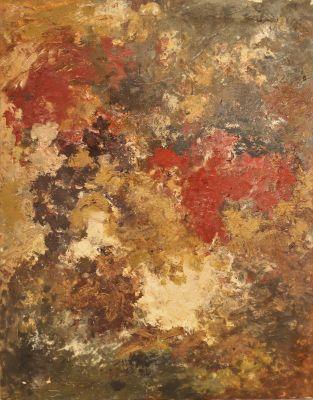 Geschenk an seine Mutter, 1960, Öl auf Leinwand, 93 x 73 cm