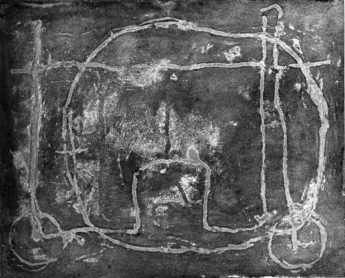 Cameon XI, 1963, Mischtechnik Öl auf Holz, 40x50 cm