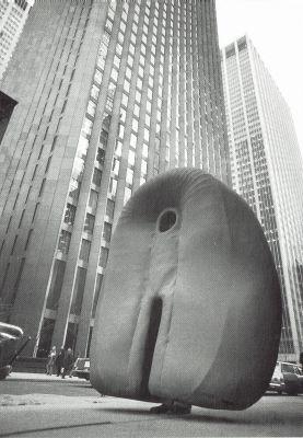 Tragbare Landing II in Zusammenarbeit mit Heidi Bucher, New York 1971