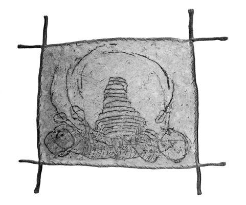 BABYLON das 12. Erdzeichen, 1981, Polystone, 165x190 cm