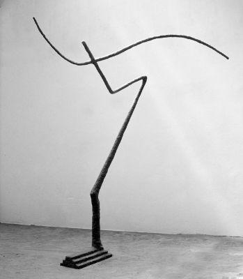 Lebenszeichen Pegasus II, 1998, 297cm height
